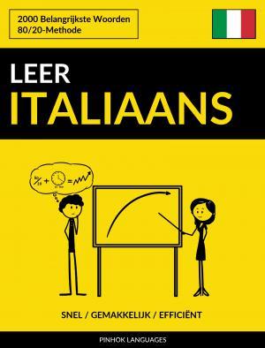 Leer Italiaans - Snel / Gemakkelijk / Efficiënt