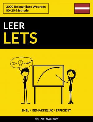 Leer Lets - Snel / Gemakkelijk / Efficiënt