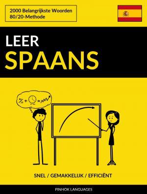 Leer Spaans - Snel / Gemakkelijk / Efficiënt