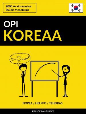Opi Koreaa - Nopea / Helppo / Tehokas
