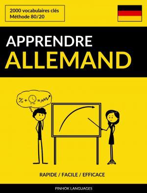 Apprendre l'allemand - Rapide / Facile / Efficace