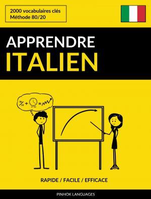Apprendre l'italien - Rapide / Facile / Efficace