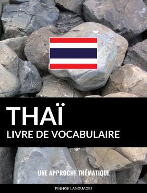 Livre de vocabulaire thaï
