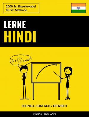 Lerne Hindi - Schnell / Einfach / Effizient