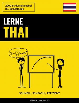 Lerne Thai - Schnell / Einfach / Effizient